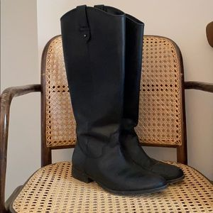 Size 8 Tall Fry & Co. Black Boots